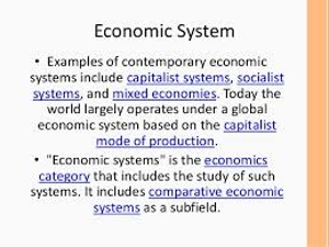 World Economic System
