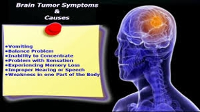 Brain Tumor Symptoms