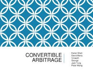 Convertible Arbitrage Theory