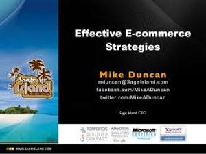 Effective Ecommerce Strategies