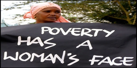 Explain Feminization of Poverty