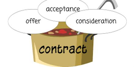 Consideration Agreement Law