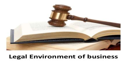 Legal Environment of Business Studies