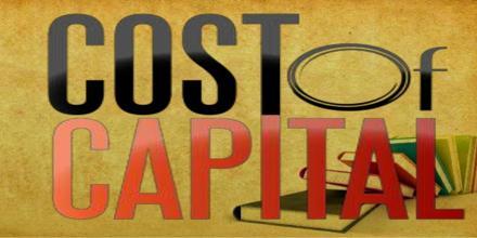 Cost of Capital in Economics