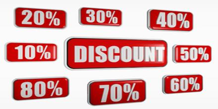 Discounting in Terms of Financial Mechanism