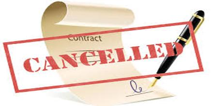 Termination or Discharge of Contracts