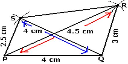 lecture on Constructing a Quadrilateral