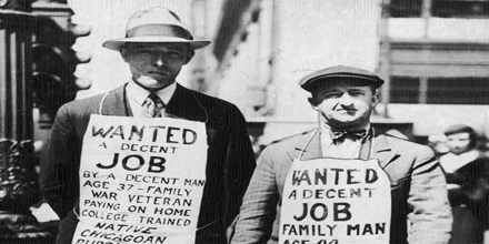 Great Depression: Cause and Spark of the Depression