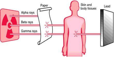 Primary Types of Ionizing Radiation
