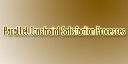 Parallel Constraint Satisfaction Processes