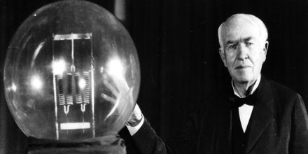 Thomas Alva Edison's Bright Ideas