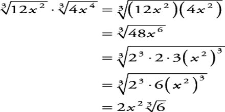 Lecture on Simplify Radicals