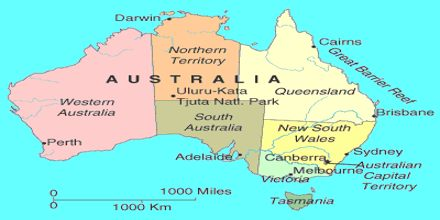 australia continent series assignment point