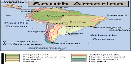 Climate of South America