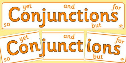 Presentation on Conjunctions
