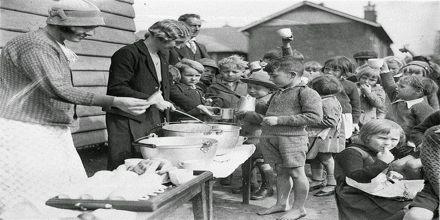 Depression in Europe in World War I