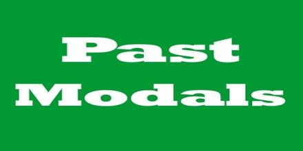 Presentation on Past Modals