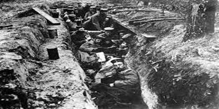 The Trenches in World War