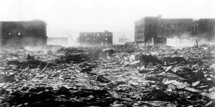 Atomic Explosion at Nagasaki