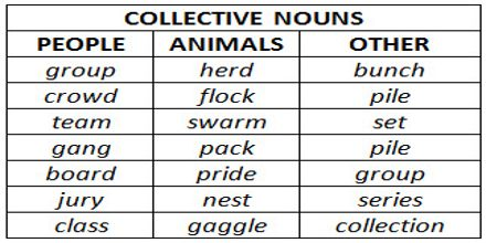 Presentation on Collective Nouns