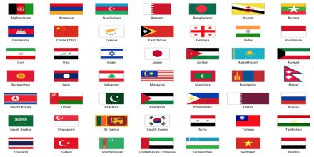 Presentation on Flags of North Asia