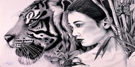 """""""The Lady, or the Tiger"""" by Frank R. Stockton"""