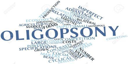 About Oligopsony