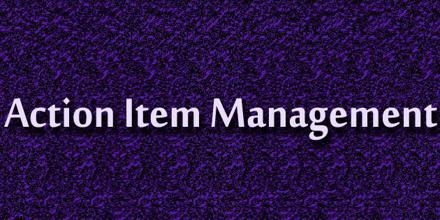 Action Item Management