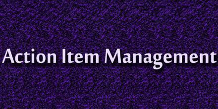 Action Item Management