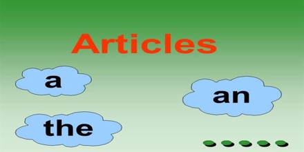 Presentation on Articles