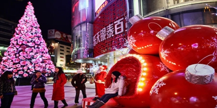 Christmas Celebration in China