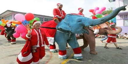Christmas Tradition in Thailand
