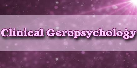 Clinical Geropsychology