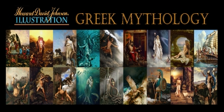 Greek Mythology: Places and How the Earth Began