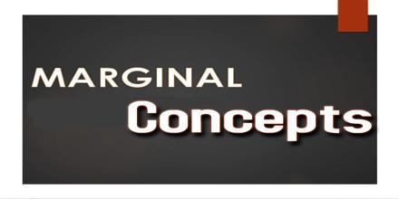 Marginal Concepts