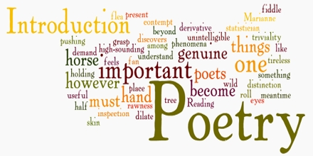 Poetry Introduction and Poetic Devices