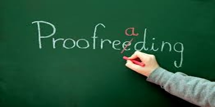 Presentation on Proofreading