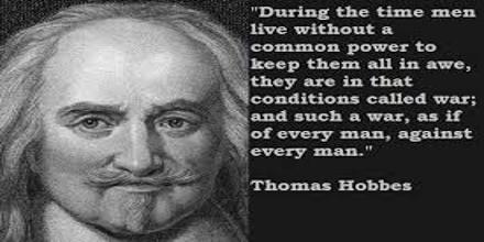 Thomas Hobbes Assumption: Social Order
