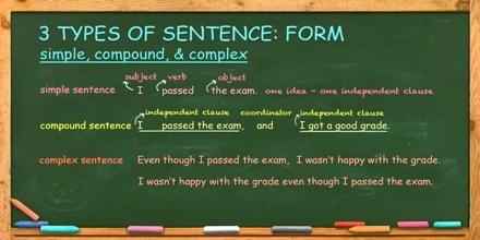 Three Types of Sentences