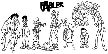Characterization in Fables
