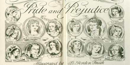Characters of Pride and Prejudice