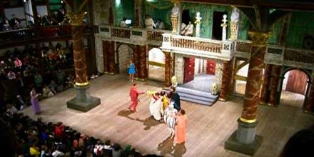 Drama Stage Setting