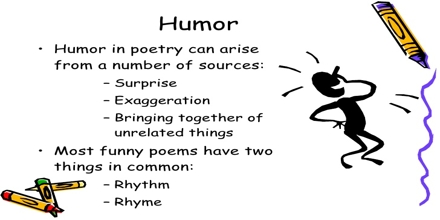 Humor and Poetry