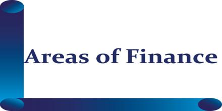 Areas of Finance