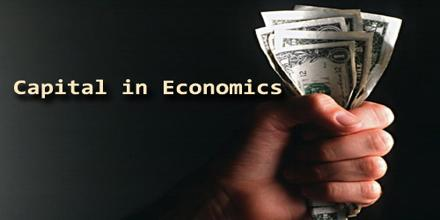 Capital in Economics