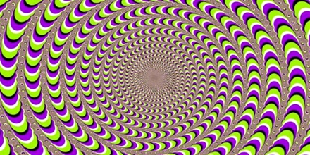 Close Eye to Optical Illusions