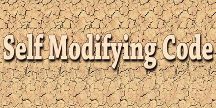 Self Modifying Code