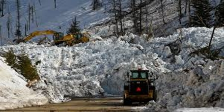 Avalanches and Transportation