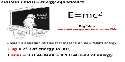 Mass Energy Calculations