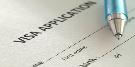 Sample Application: Apply For Visa to Work in Foreign Country